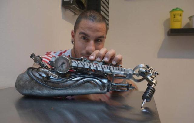 tattoo artist bionic