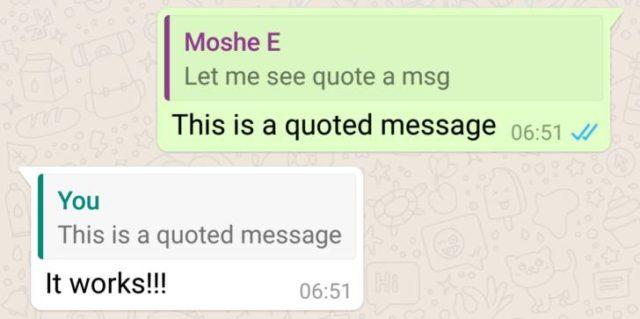 whatsapp quote