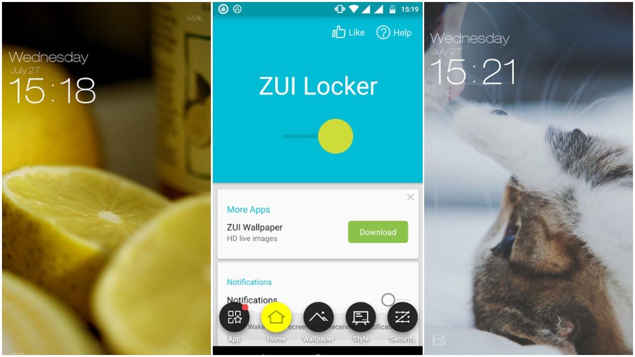 ZUI_locker_android_screenshot