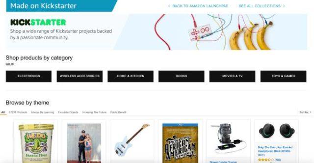 amazon kickstarter