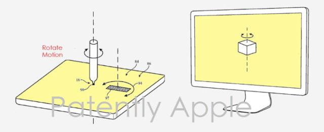 apple pencil trackpad