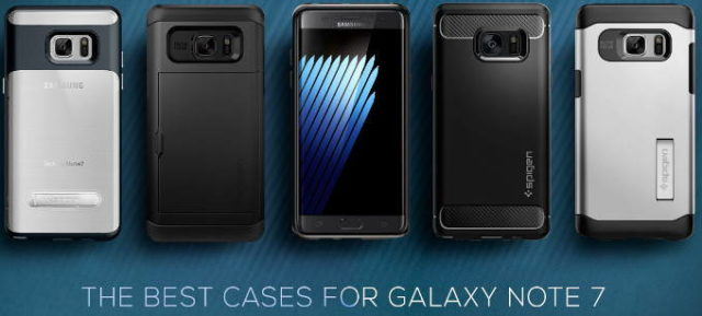 Spigen Unveils The Best Cases For The Galaxy Note 7 Ubergizmo