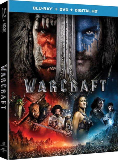 warcraft movie bluray
