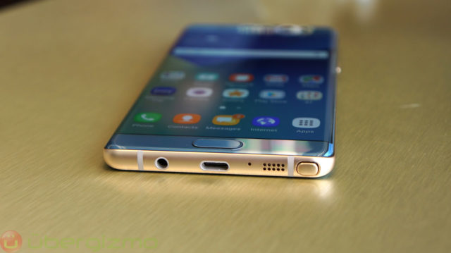 The Note 7 will lead the transition to USB-C on the high-end