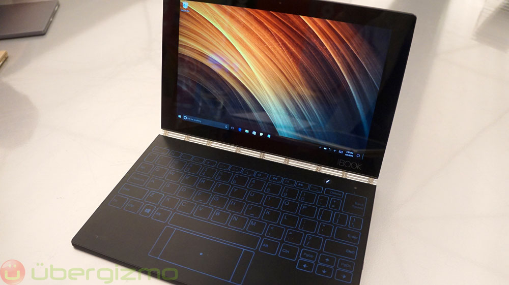 Lenovo Yoga Book Review Ubergizmo