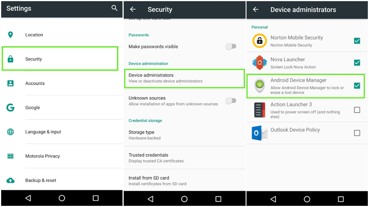 How to use Android Device Manager To Locate or Wipe Your Phone