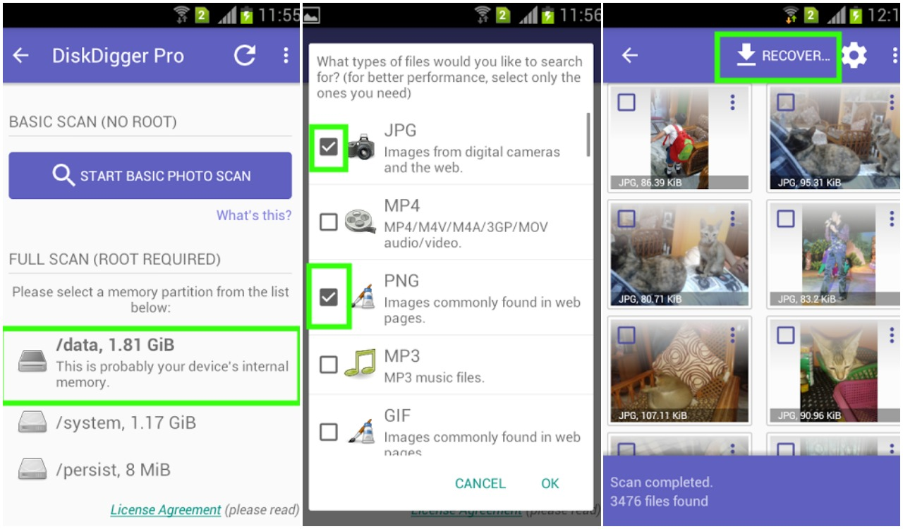 How to Recover Deleted Photos on Android | Ubergizmo