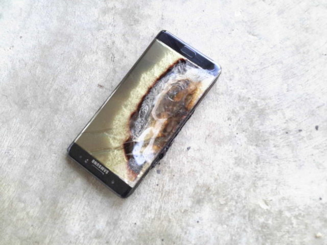note 7 explode