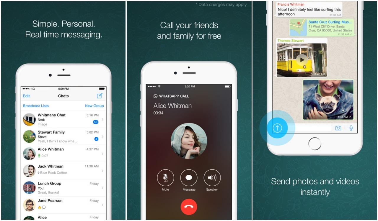 whatsapp messenger - best free calling app
