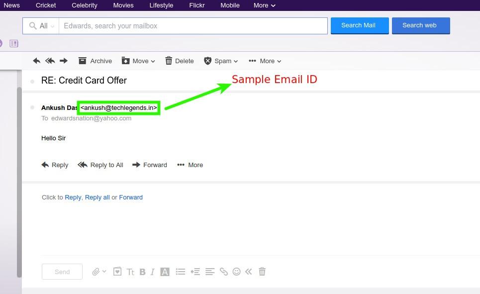 mail address to block
