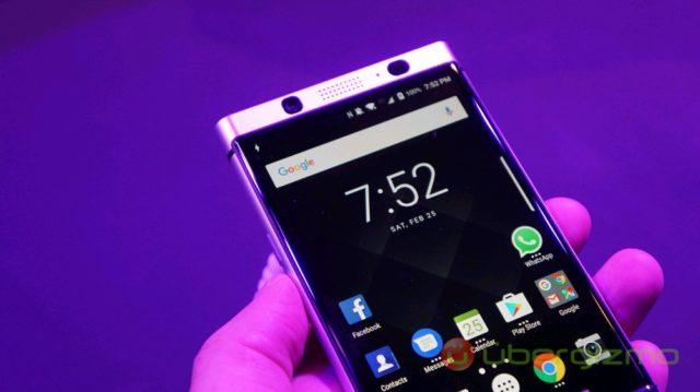 BlackBerry KeyOne Bronze Edition Launched   Ubergizmo