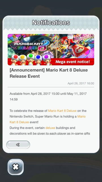 Super Mario Run To Get A Mario Kart 8 Deluxe Event This Friday Ubergizmo