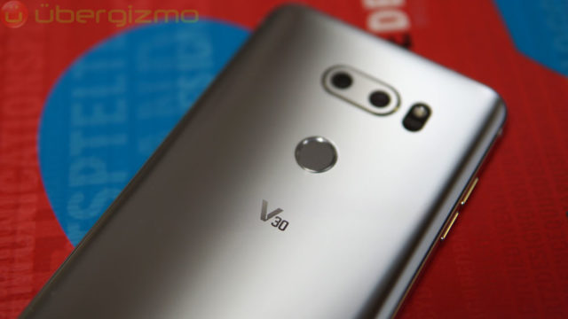 LG V30's Main Camera Might Not Have An F/1 6 Aperture | Ubergizmo