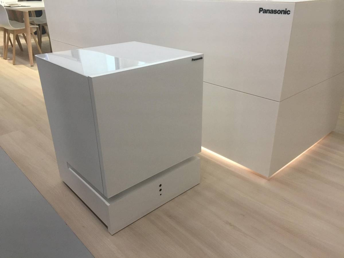 Panasonic S Moving Fridge Will Come To You When Called Ubergizmo