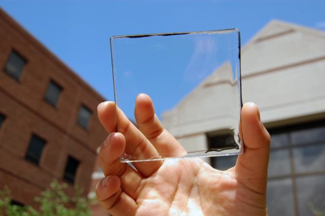 Transparent Solar Cells Could One Day Be Installed On Windows