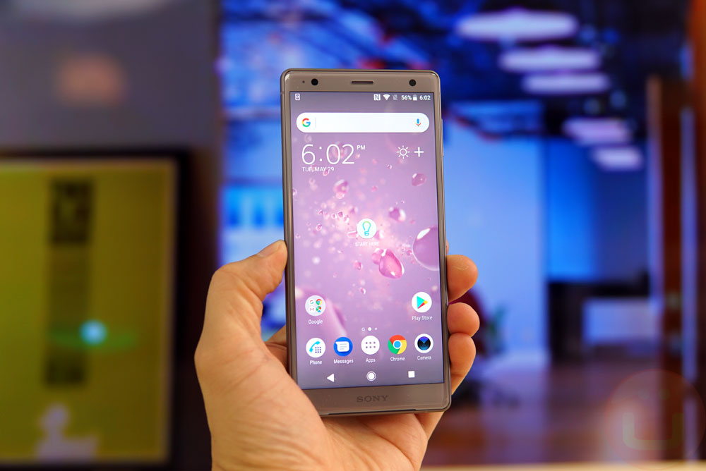Sony XPERIA XZ2 sở hữu thông số khiêm tốn hơn nhưng không hề ảnh hưởng nhiều tới hiển thị