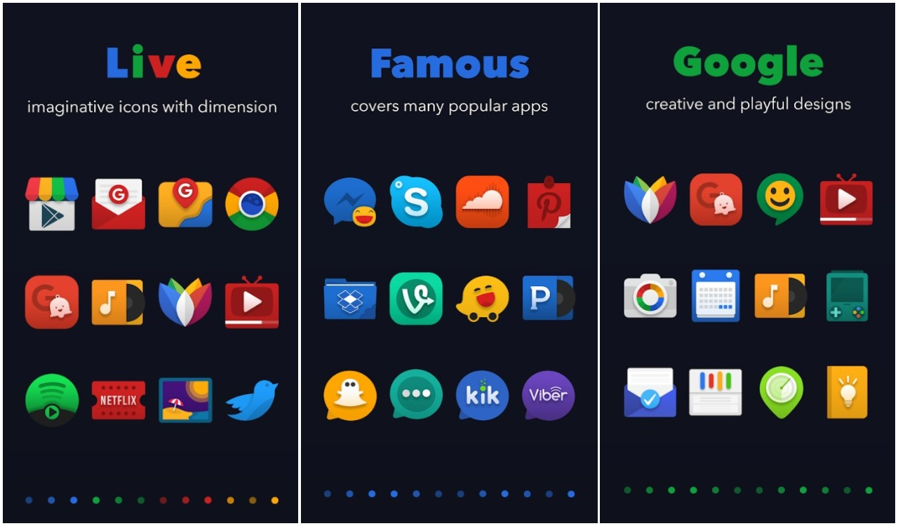 Best Icon Packs 2021 Best Icon Packs For Android | Ubergizmo