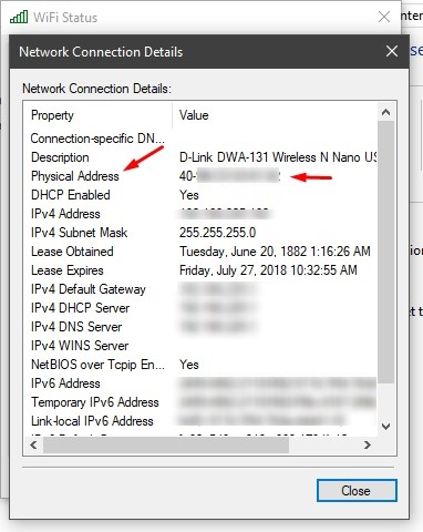 How To Find Your Network MAC Address (Windows 10) | Ubergizmo