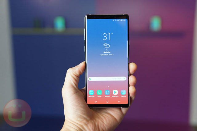 Samsung Presentation Seemingly Confirms Under Display Sensor