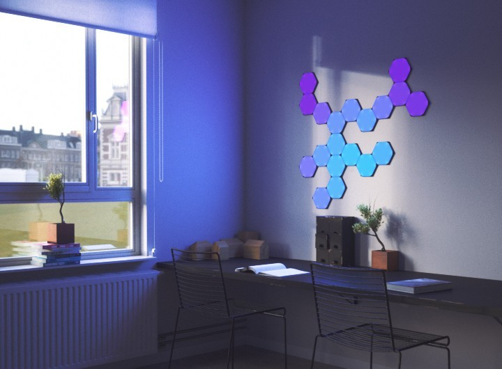 huge discount 5e279 be493 Nanoleaf Unveils New Hexagonal, Touch-Enabled Smart Light Panels