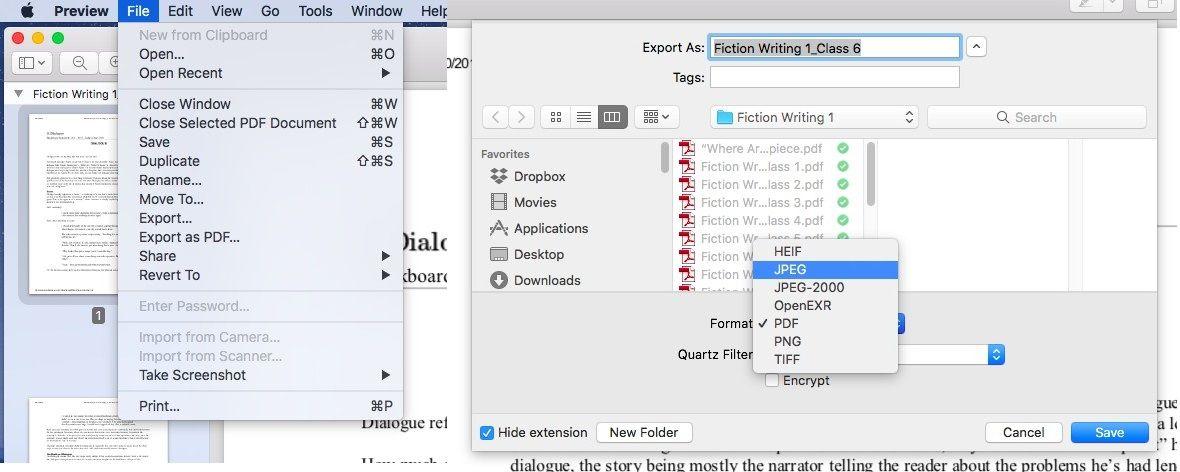 Convert to pdf mac app