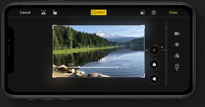video editing iOS 13