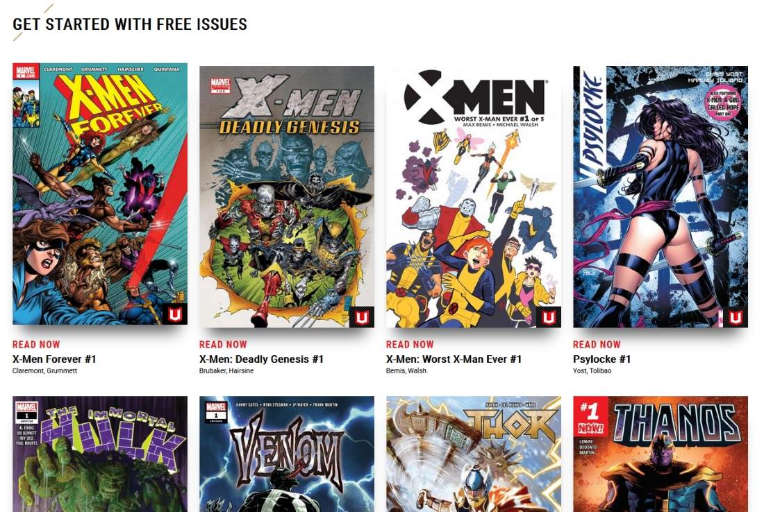 How To Read Comics Online Legally For Free Ubergizmo