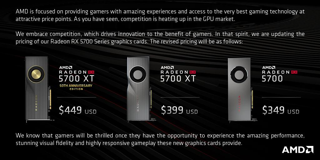 Amd Radeon 5700 Gpu Prices Cut Ahead Of Release Ubergizmo
