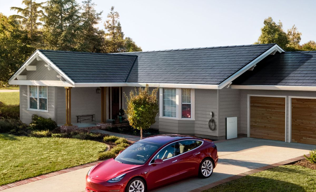 This Could Be The Largest Tesla Solar Roof Installation To Date