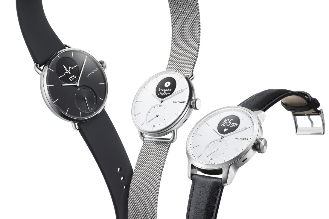 Withings ScanWatch Can Detect Sleep Apnea & Irregular Heartbeat ...
