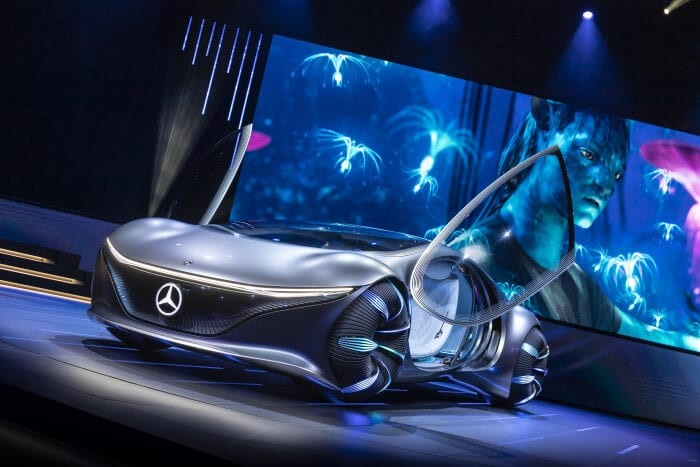Mercedes-Benz Just Designed A Concept Car With Avatar ...