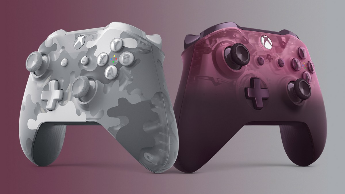 Microsoft Unveils A Couple Of New Xbox One Controllers   Ubergizmo