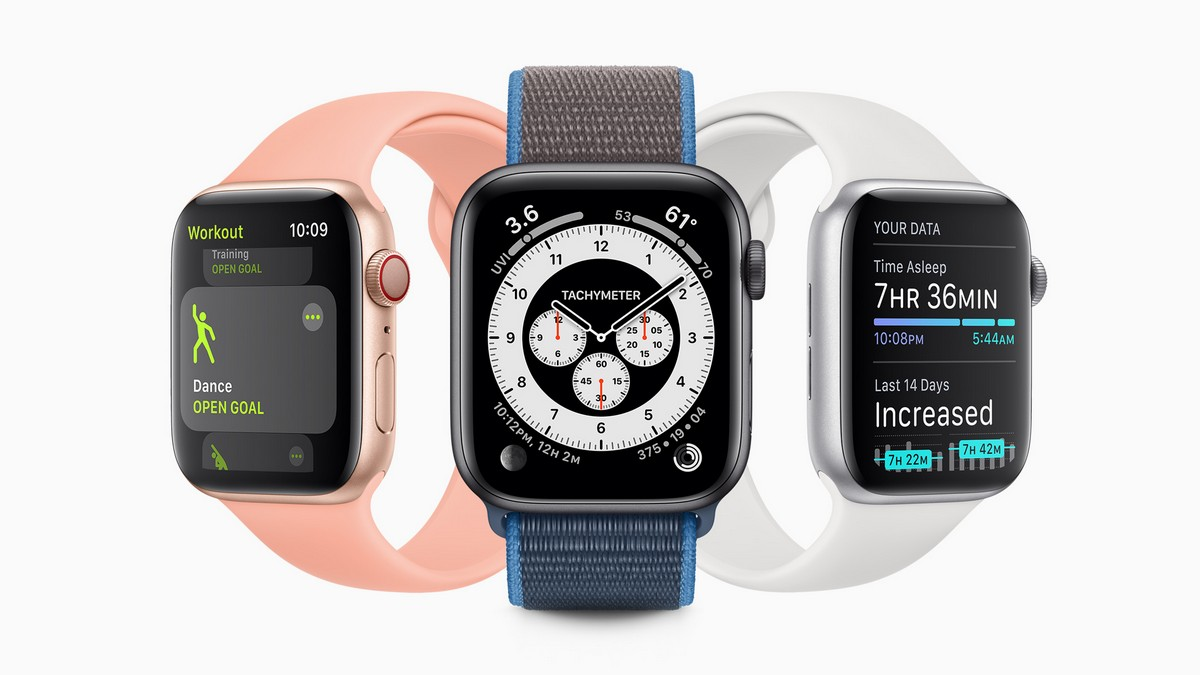 Apple Watch 5 stamp on smart watch sales!