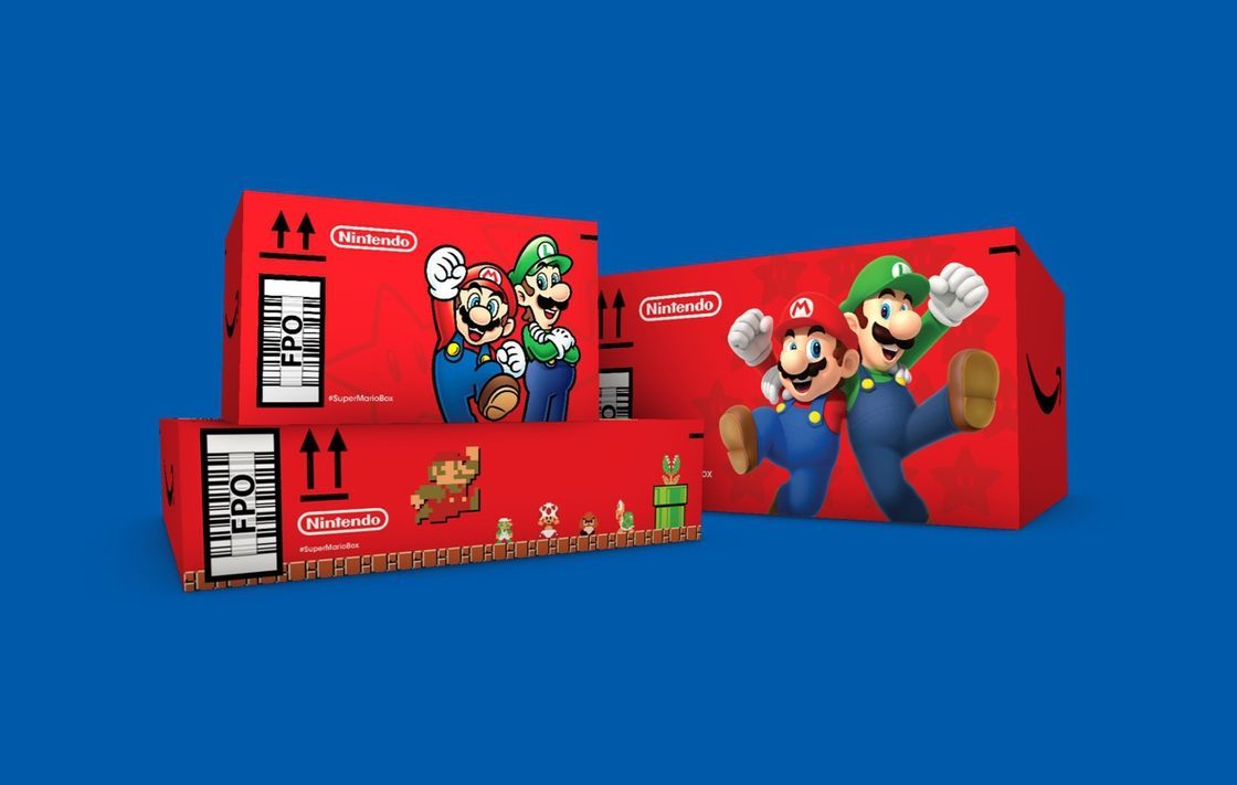 Amazon Is Shipping Random Products In Mario-Themed Boxes