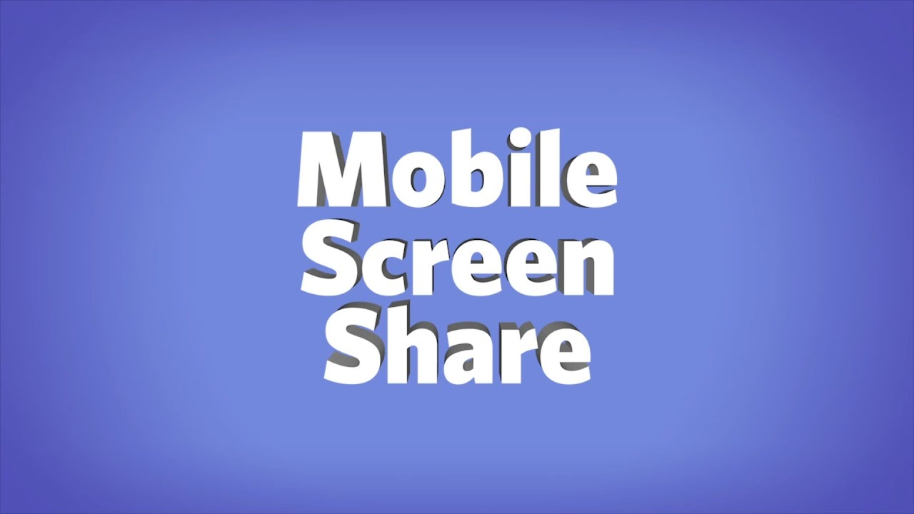 Discord For iOS And Android Can Now Screen Share