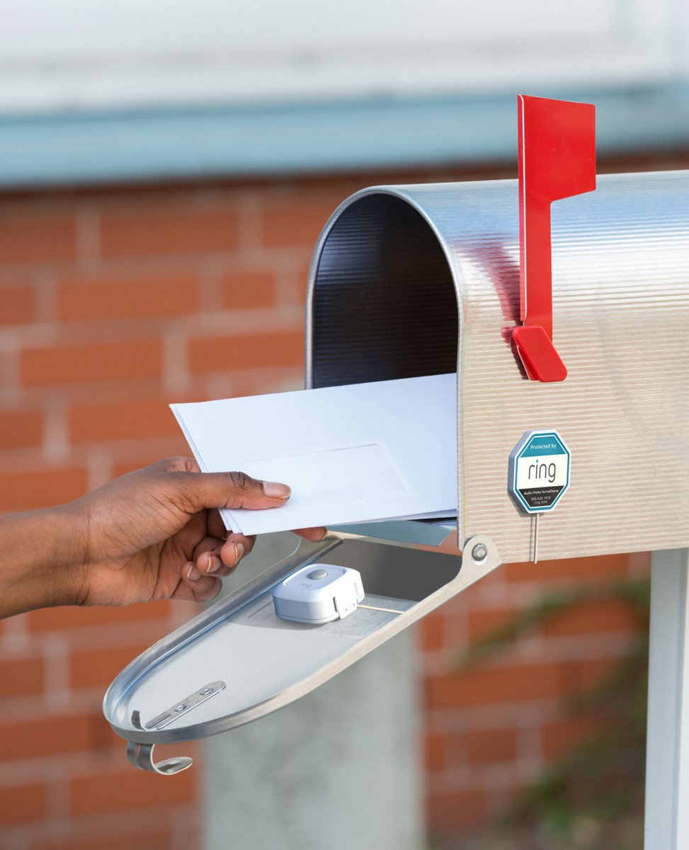 Ring's Mailbox Sensor Lets You Know When You've Got Mail
