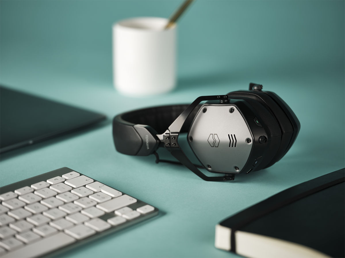 V-Moda Announces Their First-Ever Wireless Headphones With Active Noise-Cancelling
