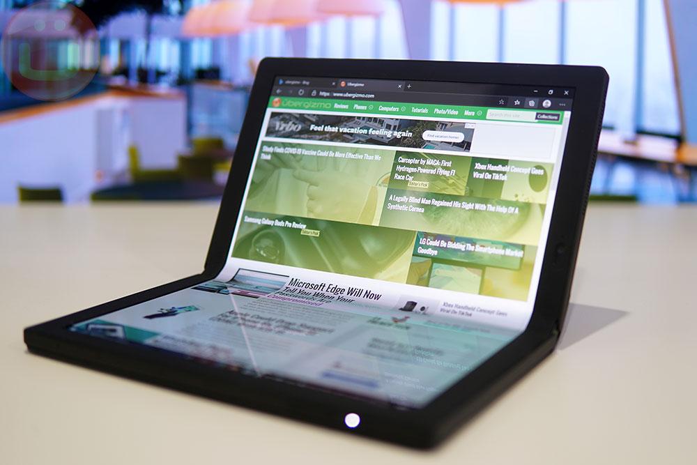 Test du Lenovo ThinkPad X1 Fold