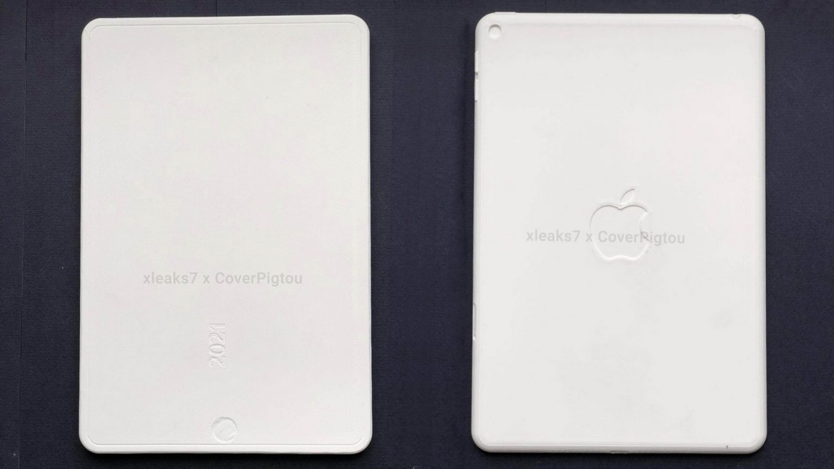 Alleged Full Screen iPad Mini 6 Shown Off In Mockup