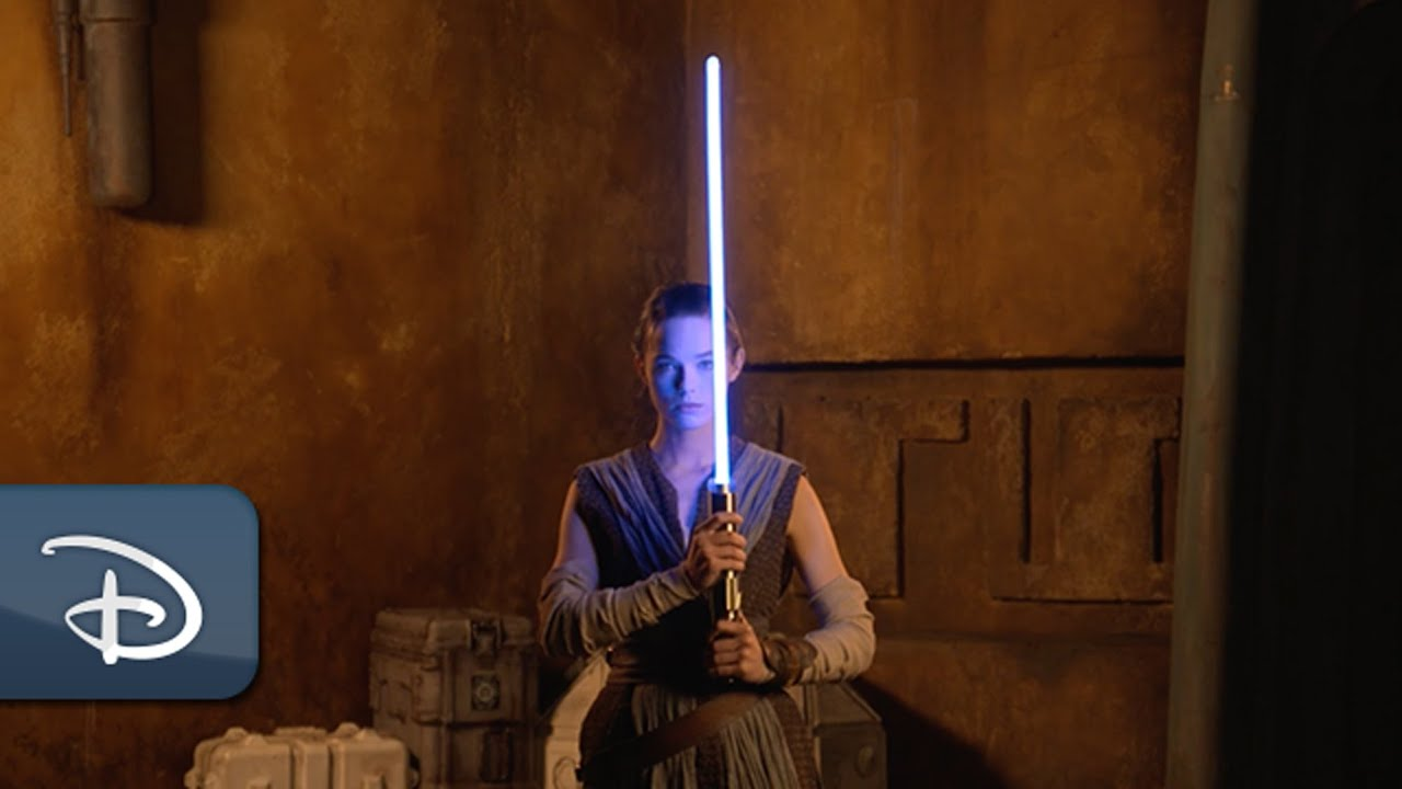 Disney Shows Off Its 'Real' Retractable Lightsaber
