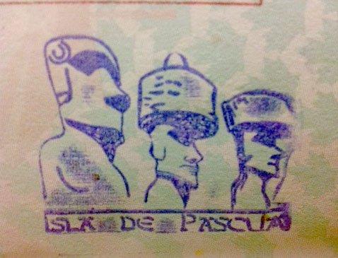15 carimbos legais para o seu passaporte stamp cool ilha de pascoa
