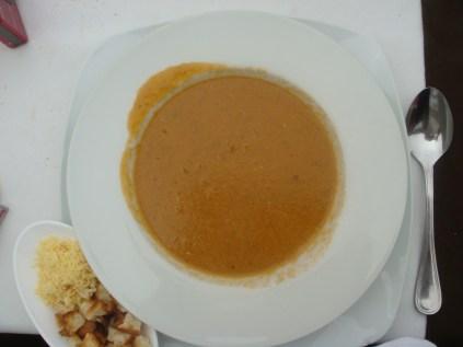 Sopa de entrada - Restaurante Il Mare