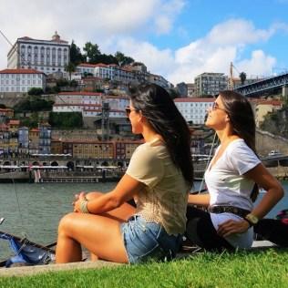 Margem do Rio Douro em Vila nova de Gaia