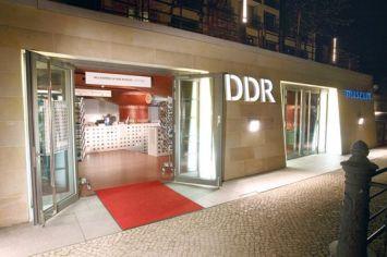 Entrada Museu DDR em Berlim