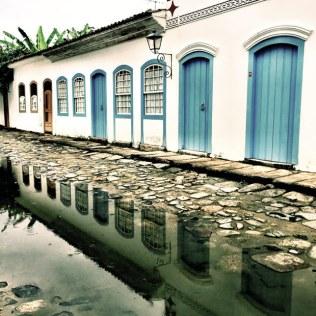 espelhos d`água no Centro Histórico de Paraty!