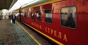 Trem Noturno entre São Petersburgo e Moscou Rússia