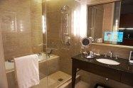 banheiro do Trump Tower Hotel
