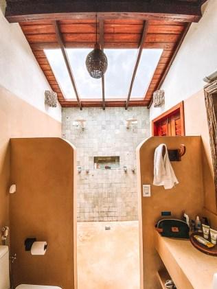 Onde ficar em Caraíva: Pousada Casa das Conchas - Banheiro