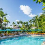 piscinas do The Palms Hotel & Spa, resort de luxo em Miami Beach