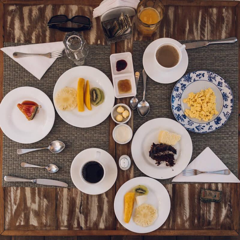 Nosso café da manhã